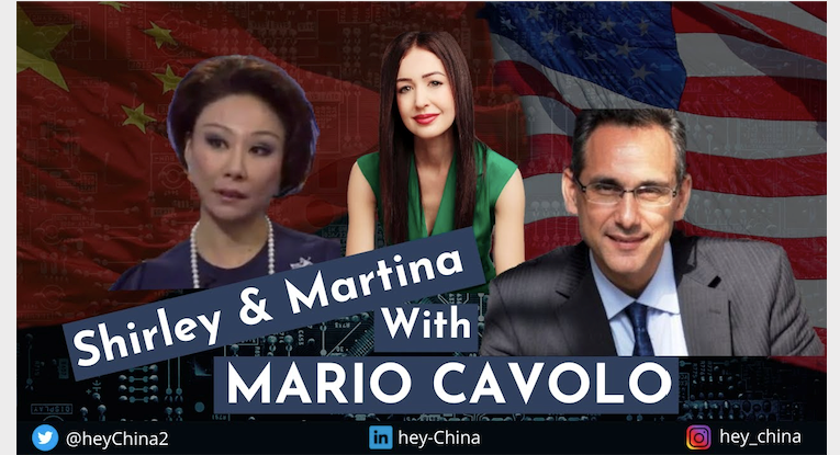 US-China pandemic protocols, « propaganda, » and book deals with Mario Cavolo