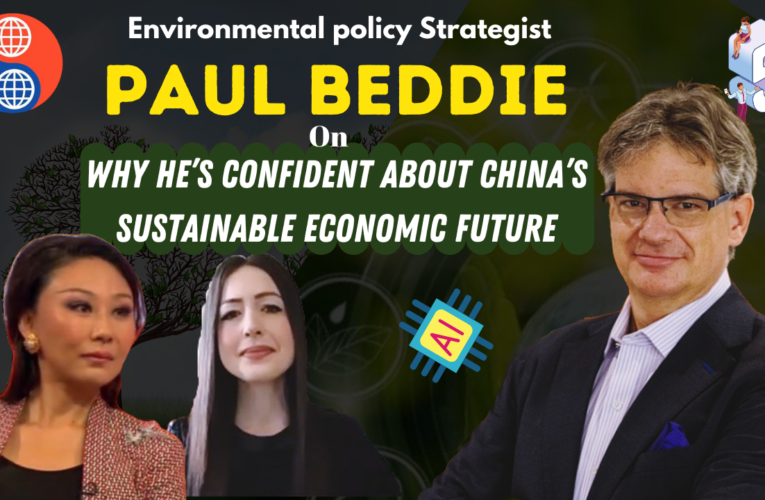 Environmental policy Strategist Paul Beddie on why he's confident about China's sustainable economic future