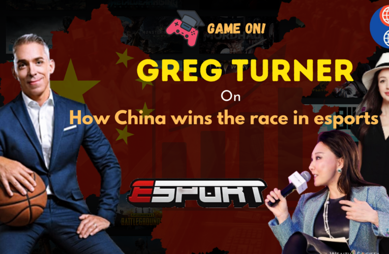Game on! Greg Turner on how China wins the race in esports