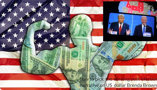 How to pick the winning post-election narrative on US dollar by Brendan Brown