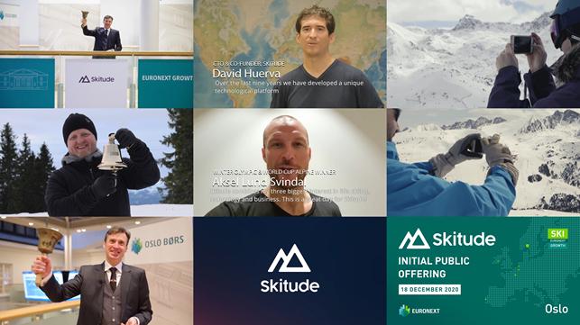 Euronext : Skitude, spécialiste des apps de stations de ski, introduit en bourse !