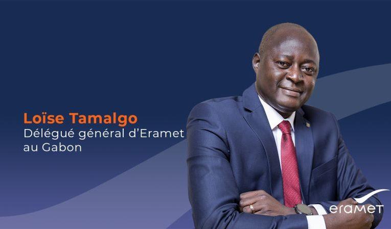 Eramet : Nomination de Loïse Tamalgo, Délégué général d'Eramet au Gabon