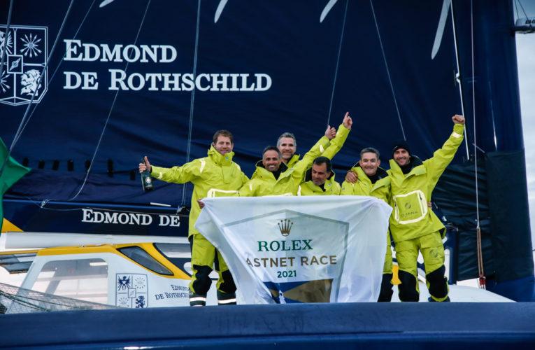 Deuxième victoire consécutive du Maxi Edmond de Rothschild